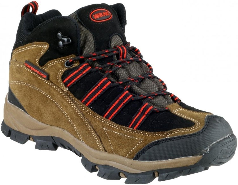 Mirak Womens Kentucky Hiker Hiking Boot Brown red Size UK 5 EU 38