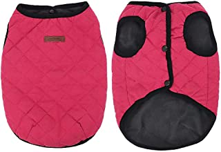 Beirui Winter Warm Small Dog Jacket Coats for Puppy Cats, Soft Fleece Pet Puppy Clothes for Small Dogs, Cute Vest Clothing for Chihuahua Yorkie Poodles, 2 Colors (XS S M L)