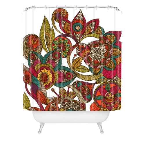 Deny Designs Valentina Ramos Garden AVA Duschvorhang, 164 x 183 cm