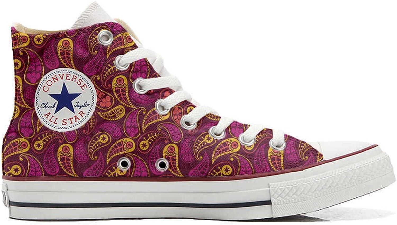 Converse All Star personalisierte Schuhe - Handmade schuhe - Decor Paisley