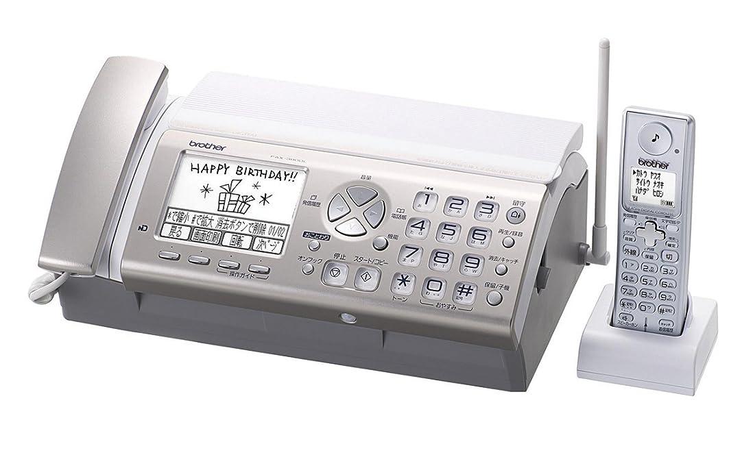 オーチャード分泌する浴ブラザー 普通紙ファクス FAX-380DL デジタルコードレス子機1台 FAX-380DL