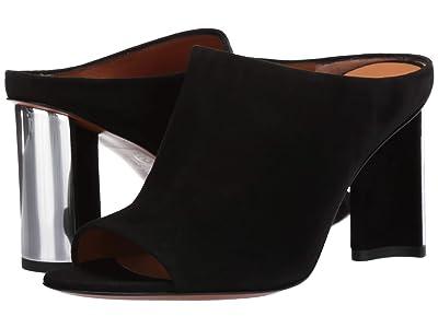 Clergerie Angel (Black Suede) High Heels