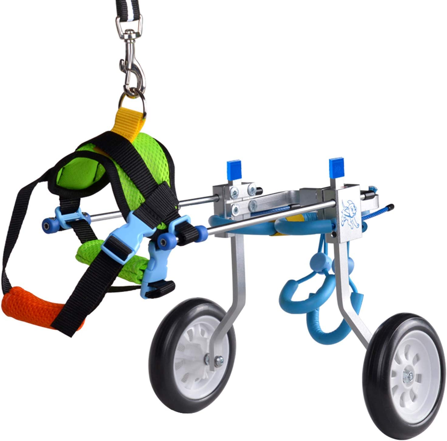 HiHydro 6 Types Cart Pet Wheelchair for Handicapped Hind Legs Sm