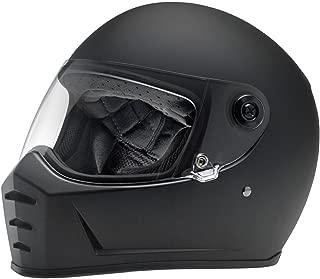 Biltwell Lane Splitter Helmet (MEDIUM) (Flat BLACK)