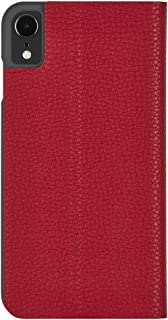 Case-Mate - iPhone XR Wallet Folio Case - BARELY THERE FOLIO - iPhone 6.1 - Cardinal Folio
