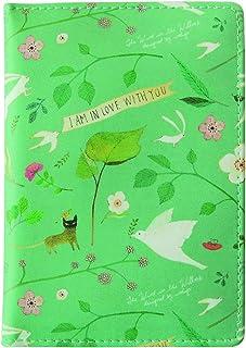 Indigo Willow Pattern Passport Case (Mint)