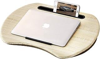 Home-Like 膝上テーブル テーブル 枕 クッション パソコンデスク タブレット 用ラップ テーブル ラップトップデスク 机 膝上作業 ノートパソコンデスク 勉強机 リビングテーブル 軽量 持ち運び