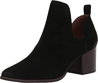 Lucky Brand Women's Jorry Bootie Ankle Boot, Black, 7