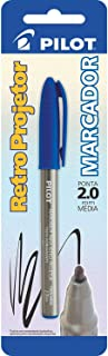 Pilot 1430007AZ, Caneta Retroprojetor, 2.0 mm, Marcador, Multicor