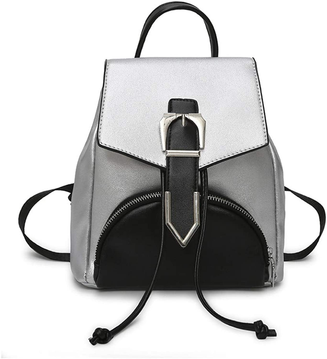 CLEBAO Shoulder, Simple, European and American, Fashion, Trend, color, Student Backpack
