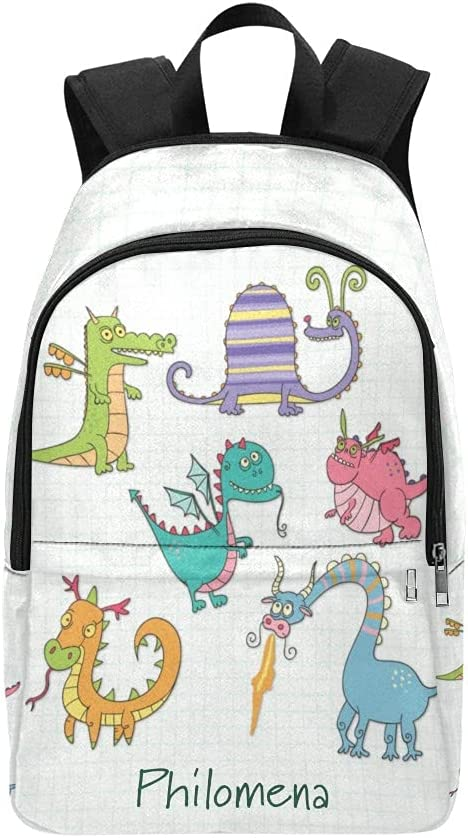 Dinosaur Animal Interesting Personalized Max 83% OFF Camping for NEW Backpacks T