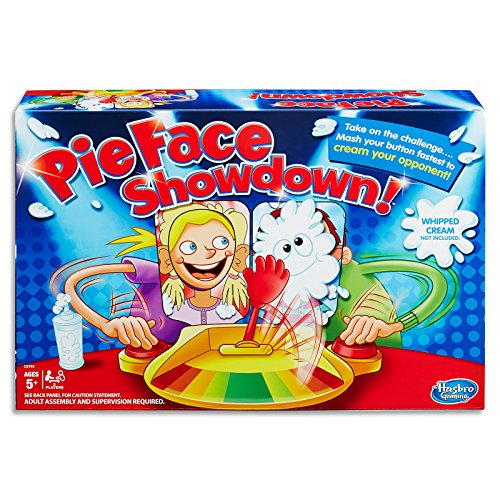 Pie Face Showdown - cream your opponent - 2 Players - Kids Toys & Board Games - Ages 5+