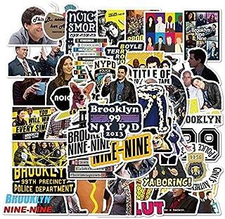 Tv Serie Brooklyn 99 Sticker Diy Briefpapier Decal Motorfiets Skateboard Laptop Gitaar Helm Sticker Kinderen 50 Stks