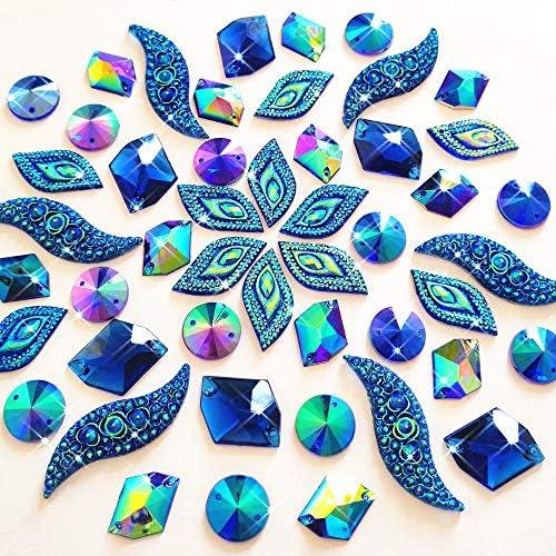 Embellishment beads for clothing