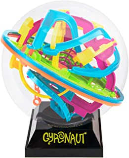 Gyronaut Alpha Obstacle 3D Puzzle Ball with Display Stand -138 Extra-Challenging Tangled & Twisted Interactive Maze Obstacles