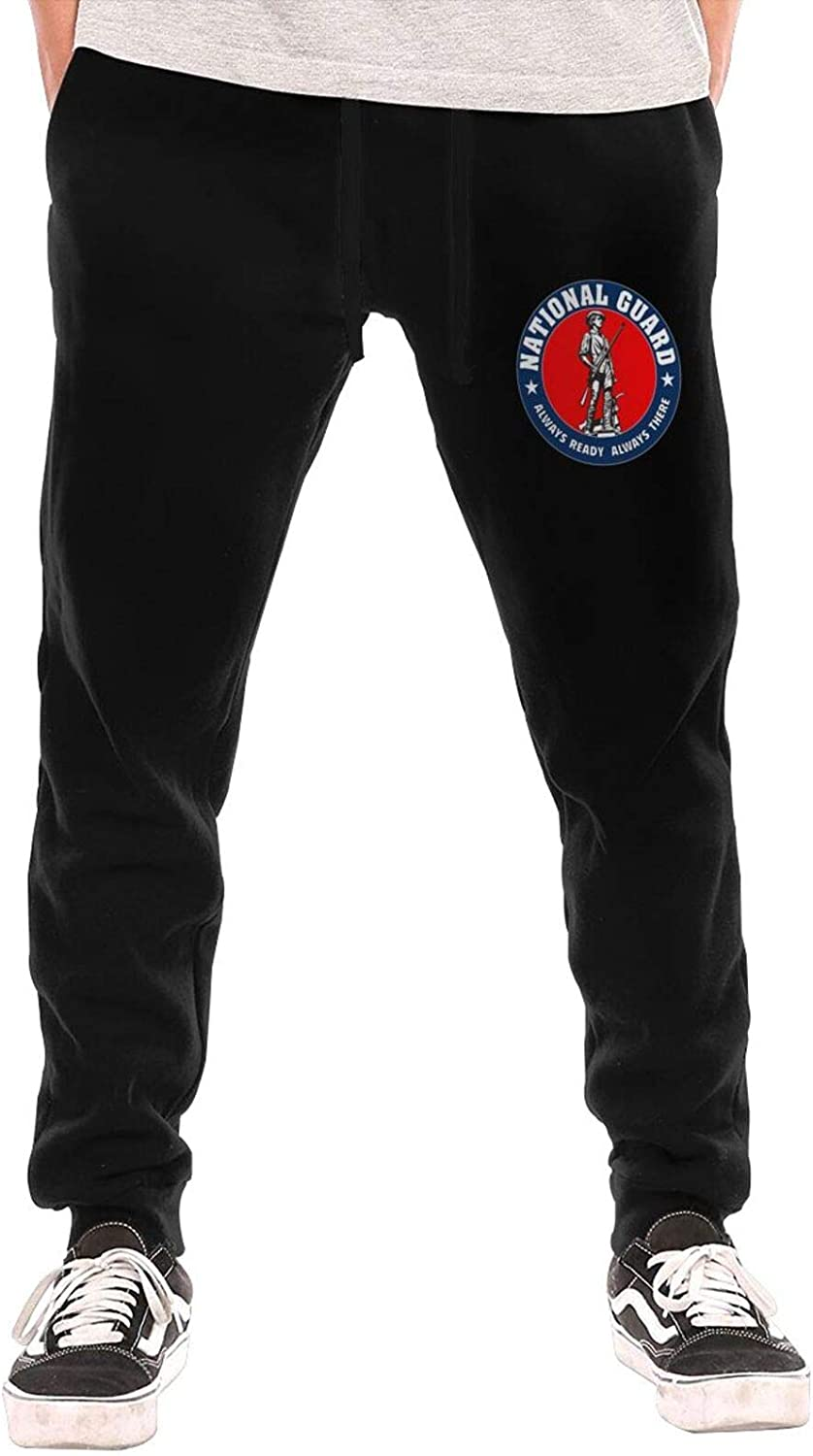 United States Army National Guard OFFicial site Sports Mens Popularity Sweatpant Tro Logo