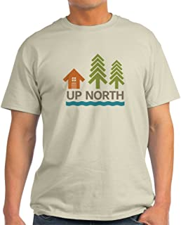 Up North T-Shirt 100% Cotton T-Shirt, White