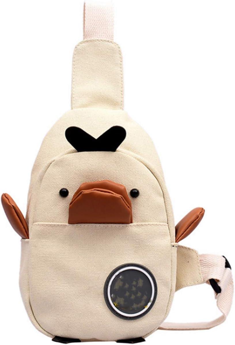 MINGSEECESS Kids Cute Cartoon Fanny Pack 3D Duck Che Max 87% OFF Shaped Mini trend rank