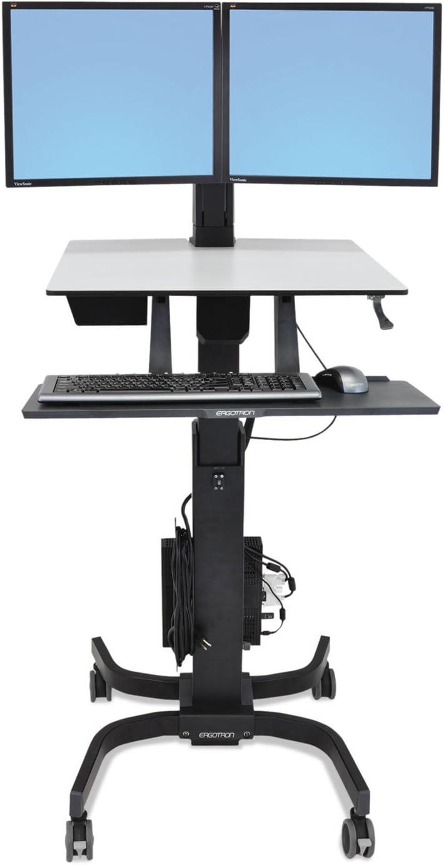 Ergotron 24214085 Some reservation WorkFit-C Sit-Stand Workstation Detroit Mall 1 36 Dual 2
