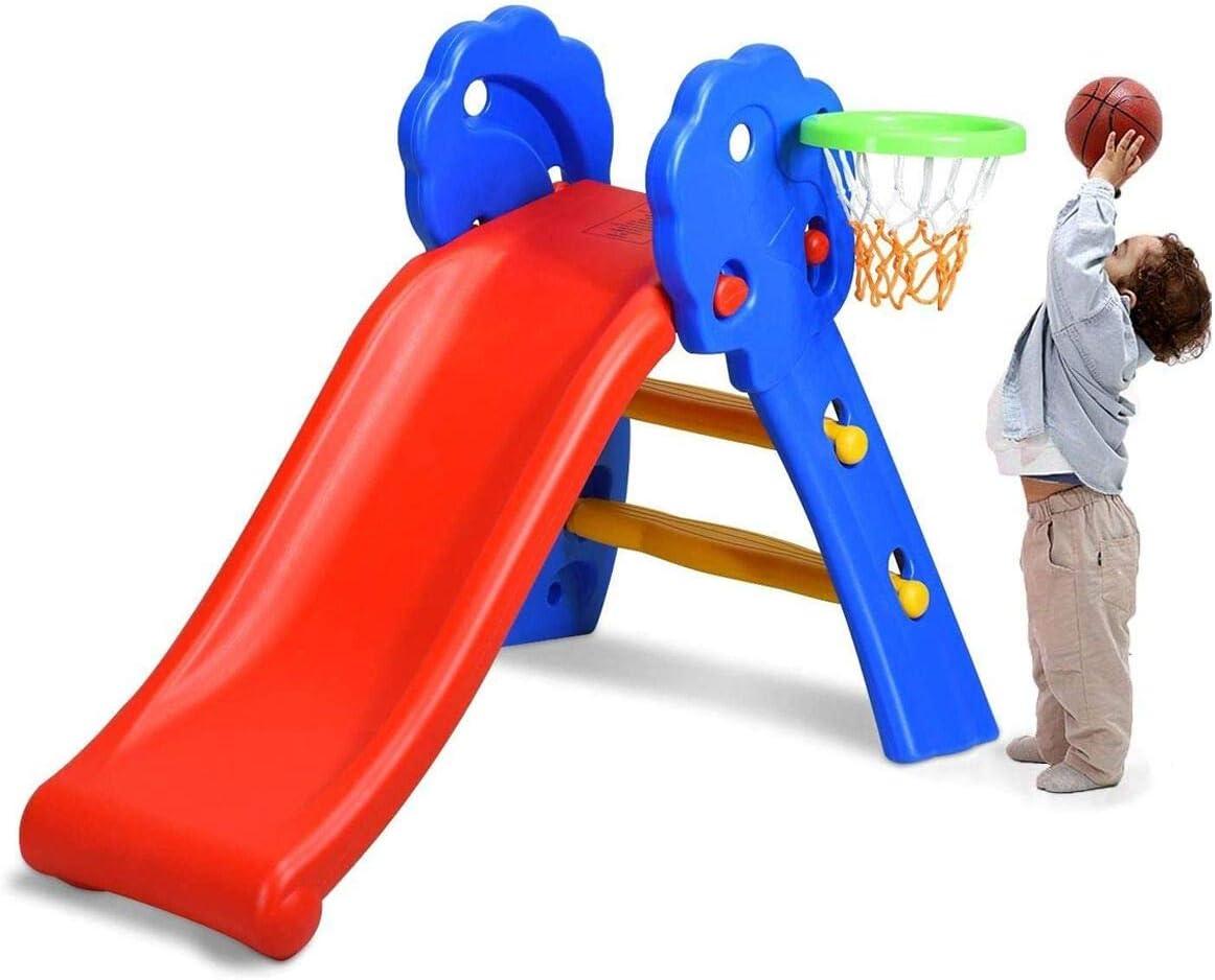 HONEY 記念日 JOY Toddler 高い素材 Slide Playset for Climber Freestanding