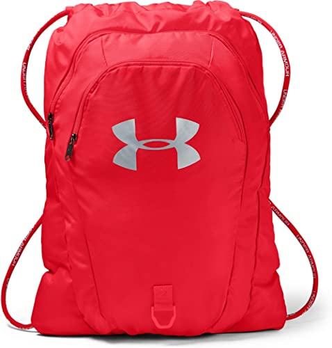 Under Armour Adult Undeniable 2.0 Sackpack , Red (600)/Silver , One Size Fits All