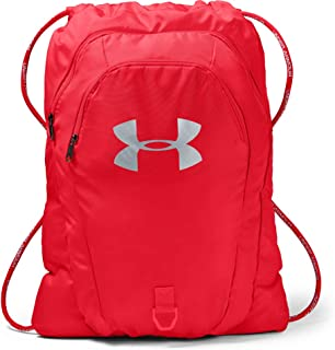 Adult Undeniable 2.0 Sackpack , Red (600)/Silver , One Size Fits All