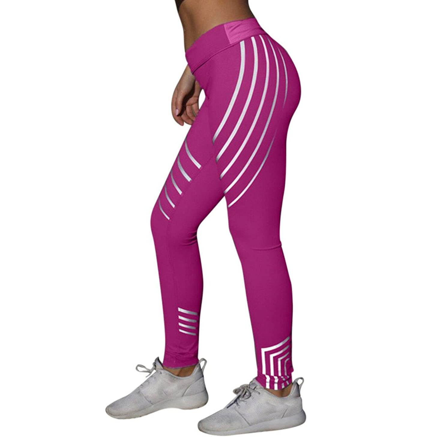 Yoga Pants for Women Capri Gibobby Womens Tummy Control High Waisted Yoga Leggings Slimming Workout Running Trousers