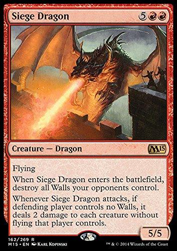 Magic The Gathering - Siege Dragon (162/269) - Magic 2015