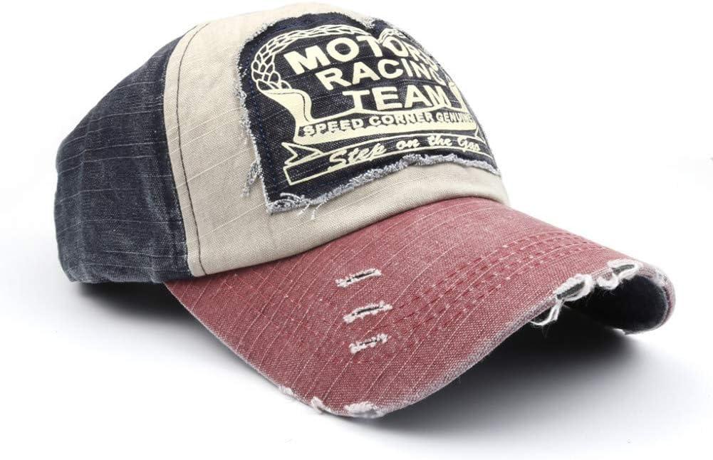 DGFB //Casquettes De Baseball en/Coton/Snapback De Baseball en/Coton De Motors Racing Team