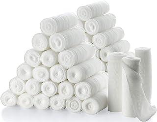 "Gauze Bandage Rolls - Pack of 48, 4"" x 4.1 Yards Per Roll of Medical Grade Gauze Bandage and Stretch Bandage Wrapping for ..."