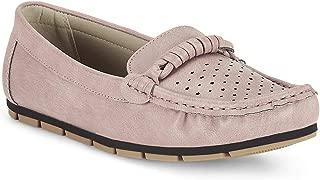 Ceriz Women's Elisabelle Pink Loafers