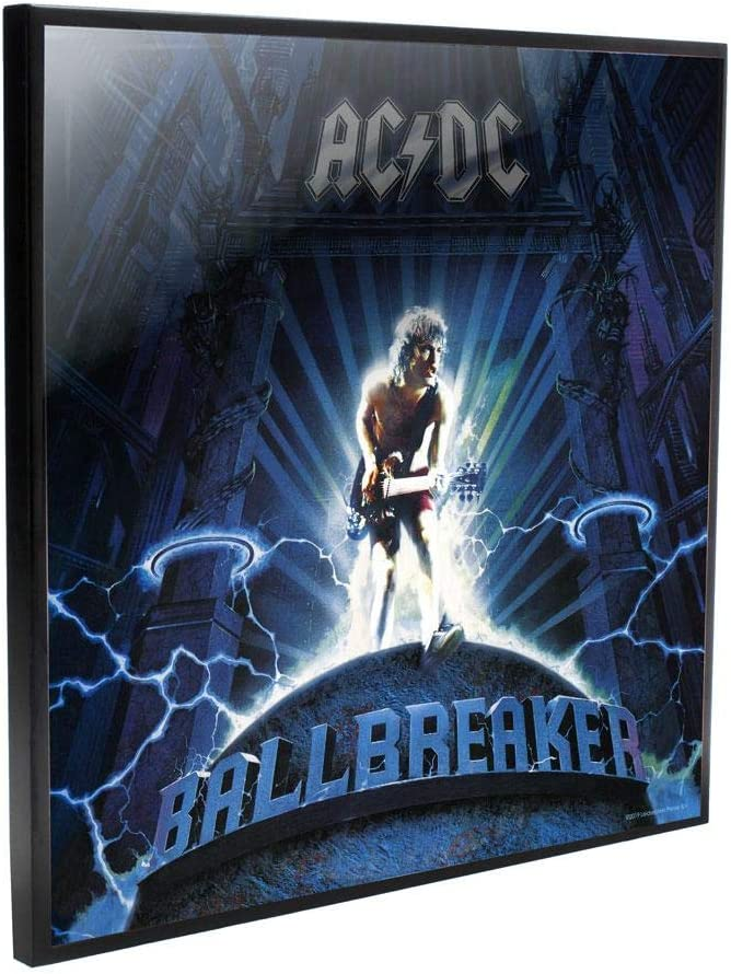 Nemesis Now ACDC Ball Breaker 32cm 大好評です Clear Picture 人気商品 Black Crystal