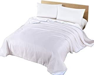 Silk Camel Luxury Allergy-Free Comforter/Duvet Filling with 100% Natural Long Strand Mulberry Silk for Summer Season - Queen Size