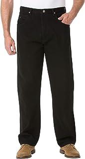 بنطلون جينز رجالي كبير وطويل وعرة من Wrangler مقاس مريح