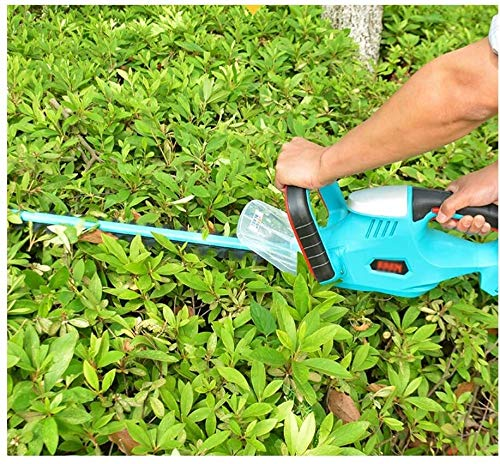 Rotary Mowers Electric Hedge Trimmer Electric Hedge Trimmer Rechargeable Electric Hedge Trimmer Garden Pruning (Size : One 4ah battery)