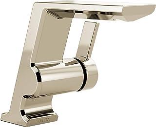 Delta Faucet 599-PNLPU-DST Pivotal Single Handle Lavatory Faucet, Polished Nickel