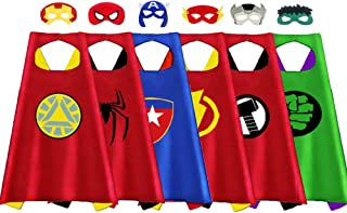 QIMYGIFT Cool Superhero Dress up Costumes