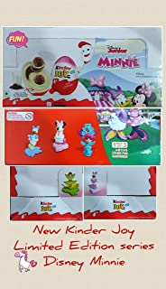 Kinder Joy Egg Minnie Mouse Series Easter Egg Surprise Toy Choose Box of 16 Fast Shipping For USA (Box of 16 Eggs)
