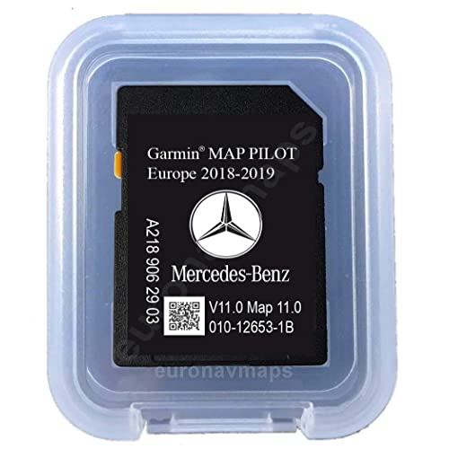 Carte SD Mercedes Garmin Map Pilot STAR1 v11 Europe 2018-2019 - A2189063303