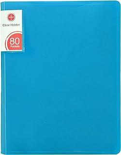 حامل شفاف من ساسكو 80 جيب- أزرق