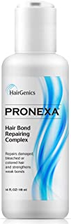 Hairgenics Pronexa Hair Bonder Bond Repairing Complex and Conditioner for Damaged and Treated Hair. 4 FL OZ Provides 8 ful...