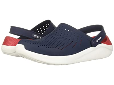 Crocs LiteRide Clog (Navy/Pepper) Shoes