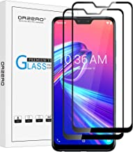 (2 Pack) Orzero Tempered Glass Screen Protector Compatible for Asus Zenfone Max Pro (M2) ZB631KL (Full Adhesive), 2.5D Arc...