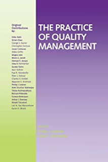 The Practice of Quality Management