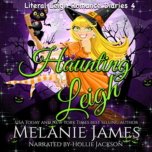 Haunting Leigh Audiobook By Melanie James cover art