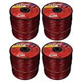 Cyclone Desert Extrusion CY105S3 .105' x690' Commercial Line Red [2/Case] (4-Pack)