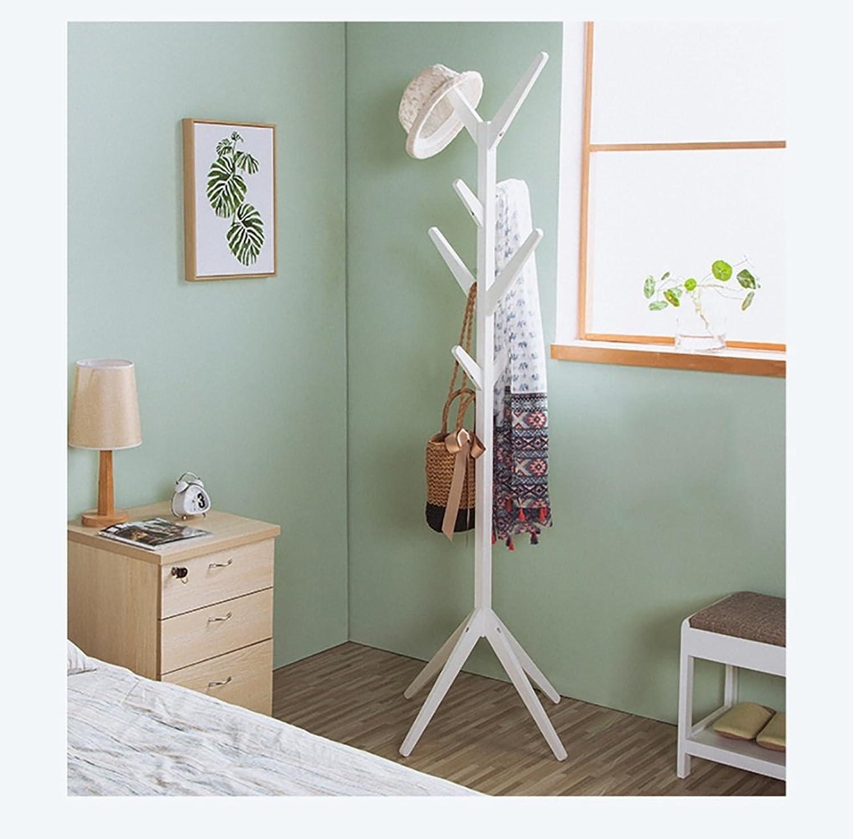 Floor Hanger Living Room Solid Wood Floor Bedroom Hanger Simple and Creative Modern Tree Coat Rack (color   C)