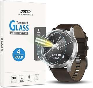 comprar comparacion OOTSR (4 Piezas Protector de Pantalla para Garmin Vivomove HR Cristal Templado para Garmin Vivomove HR Alta definición [...
