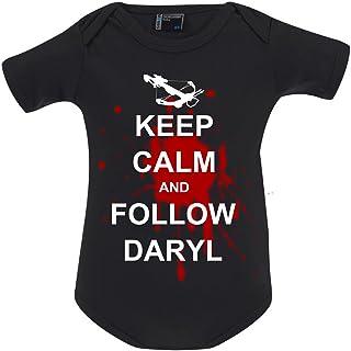 Tachinedas Kreativshop Unisex Baby Body The Walking Dead Keep Calm Follow Daryl