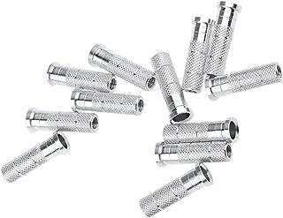 Homyl 12 Pieces Standard Carbon Shaft Aluminum Inserts, Fits for 6.2mm / 6.0mm Arrow Shaft